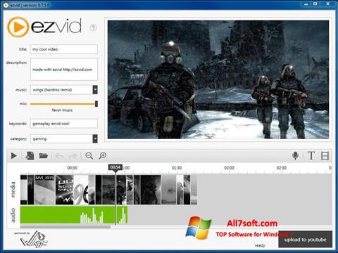 Skärmdump Ezvid för Windows 7