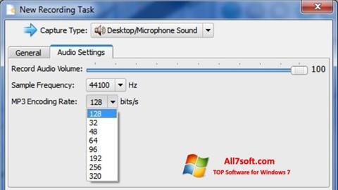 Skärmdump SMRecorder för Windows 7