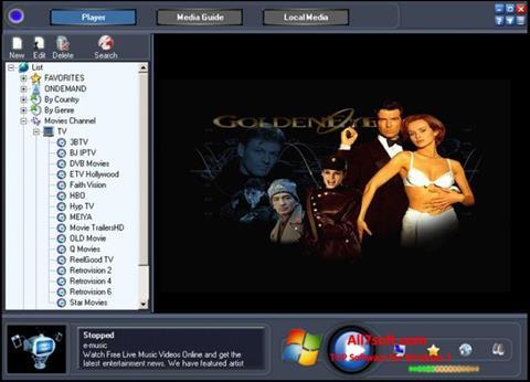 Skärmdump Online TV Live för Windows 7