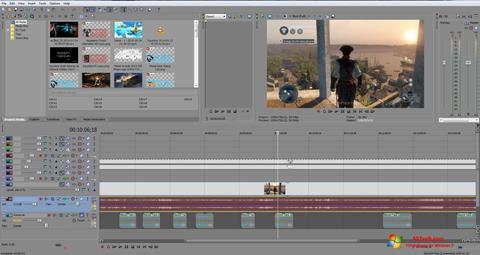 Skärmdump Sony Vegas Pro för Windows 7