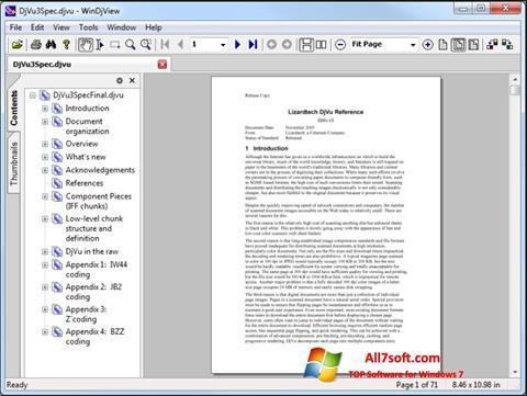 Skärmdump WinDjView för Windows 7