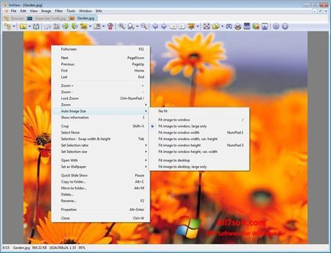 Skärmdump XnView för Windows 7