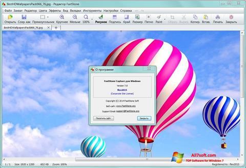 Skärmdump FastStone Capture för Windows 7