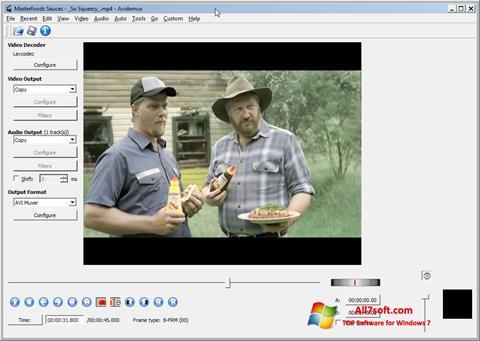 Skärmdump Avidemux för Windows 7