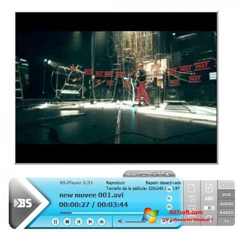 Skärmdump BSPlayer för Windows 7