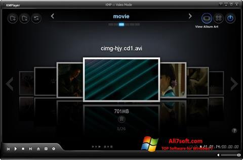 Skärmdump KMPlayer för Windows 7