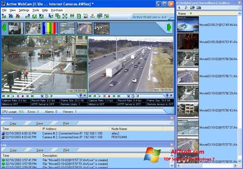 Skärmdump Active WebCam för Windows 7