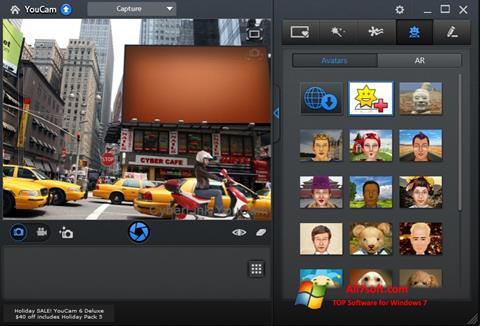 Skärmdump CyberLink YouCam för Windows 7